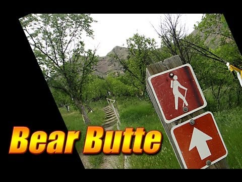 Day Hike on the Bear Butte Summit Trail - Black Hills, SD