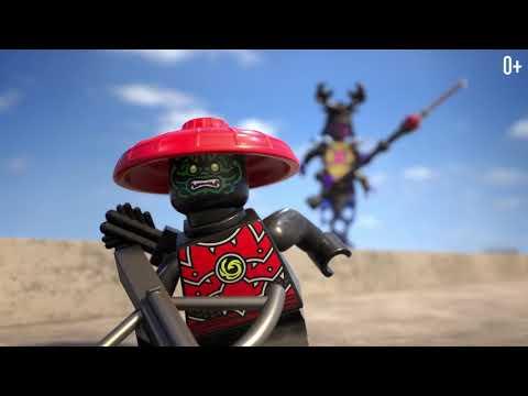 Финальная битва: Золотой ниндзя Ллойд против Оверлорда  - LEGO Ninjago - 70666