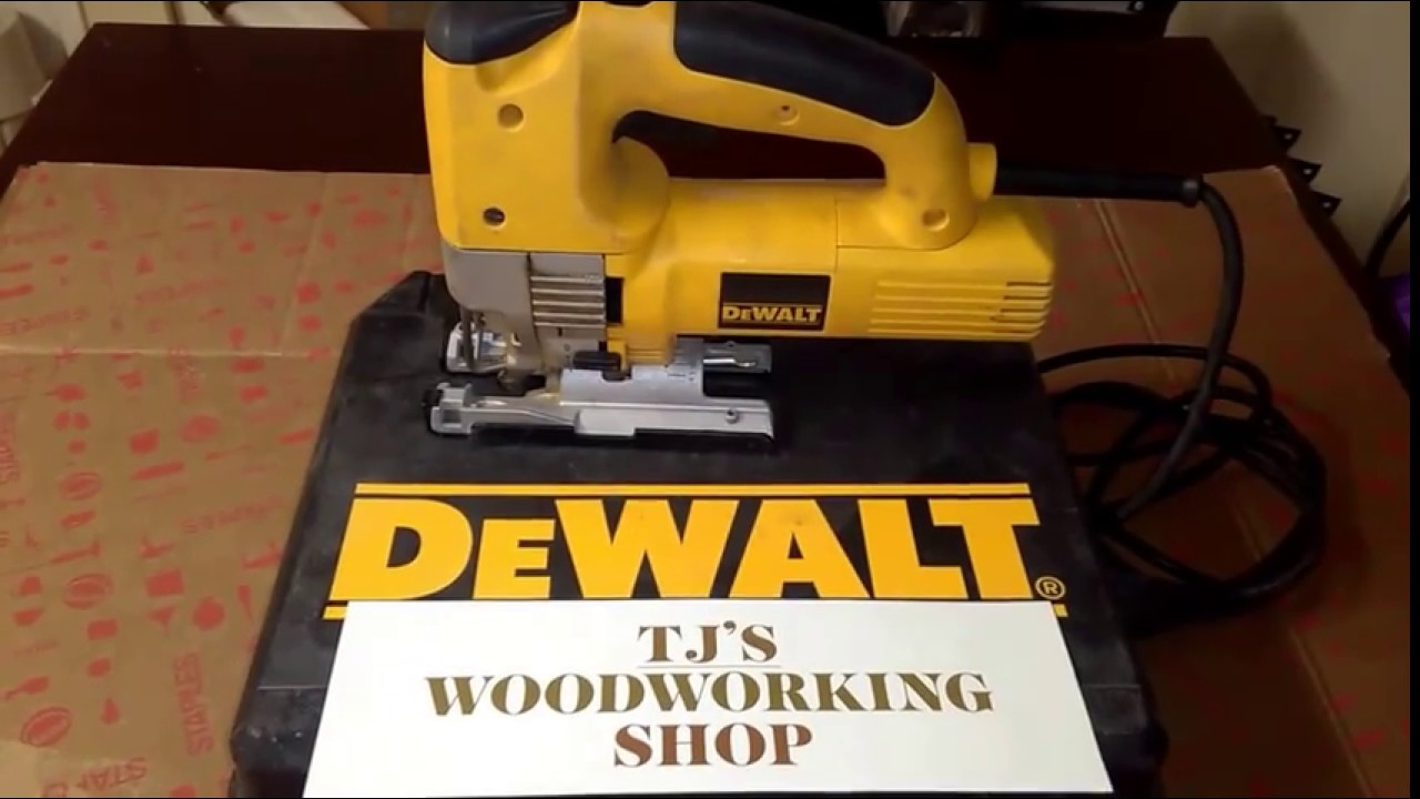 Dewalt 321 variable speed jigsaw youtube dewalt 321 variable speed jigsaw greentooth Choice Image
