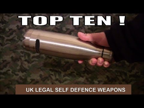 TOP TEN UK LEGAL SELF DEFENCE WEAPONS