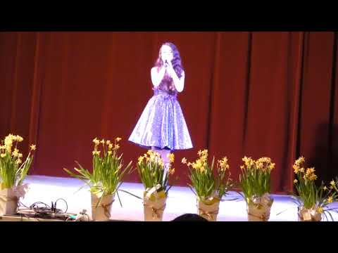 When we were  young by  Adele( cover Diana Damian) Recital Festivalul Primaverii 2018