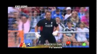 Gambar cover Roberto Carlos agradece Galo em entrevista