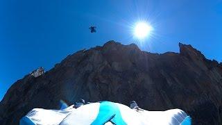 10872_ Aiguille de l'M base jump wingsuit Chamonix Mont-Blanc