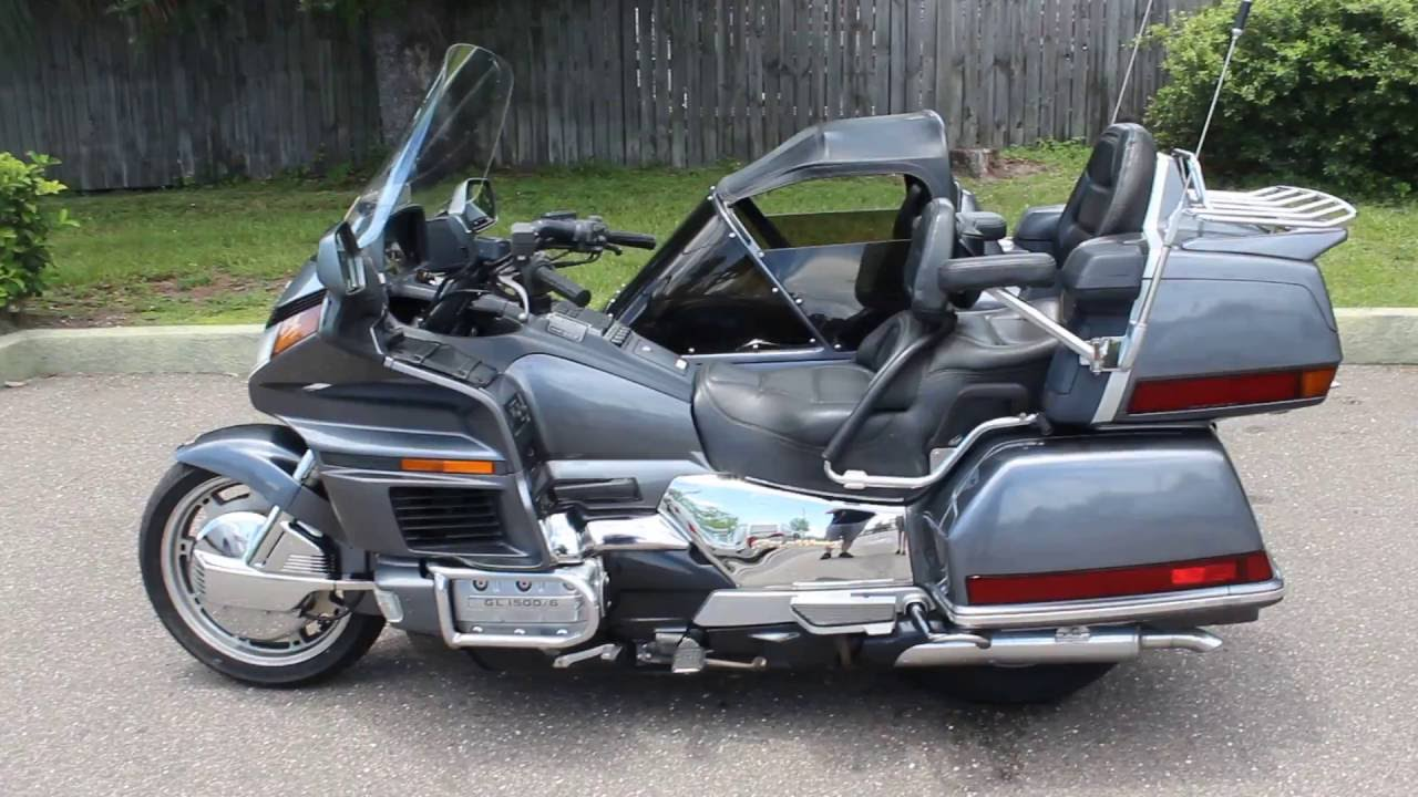 Honda Goldwing Motorcycle With Sidecar For Sale