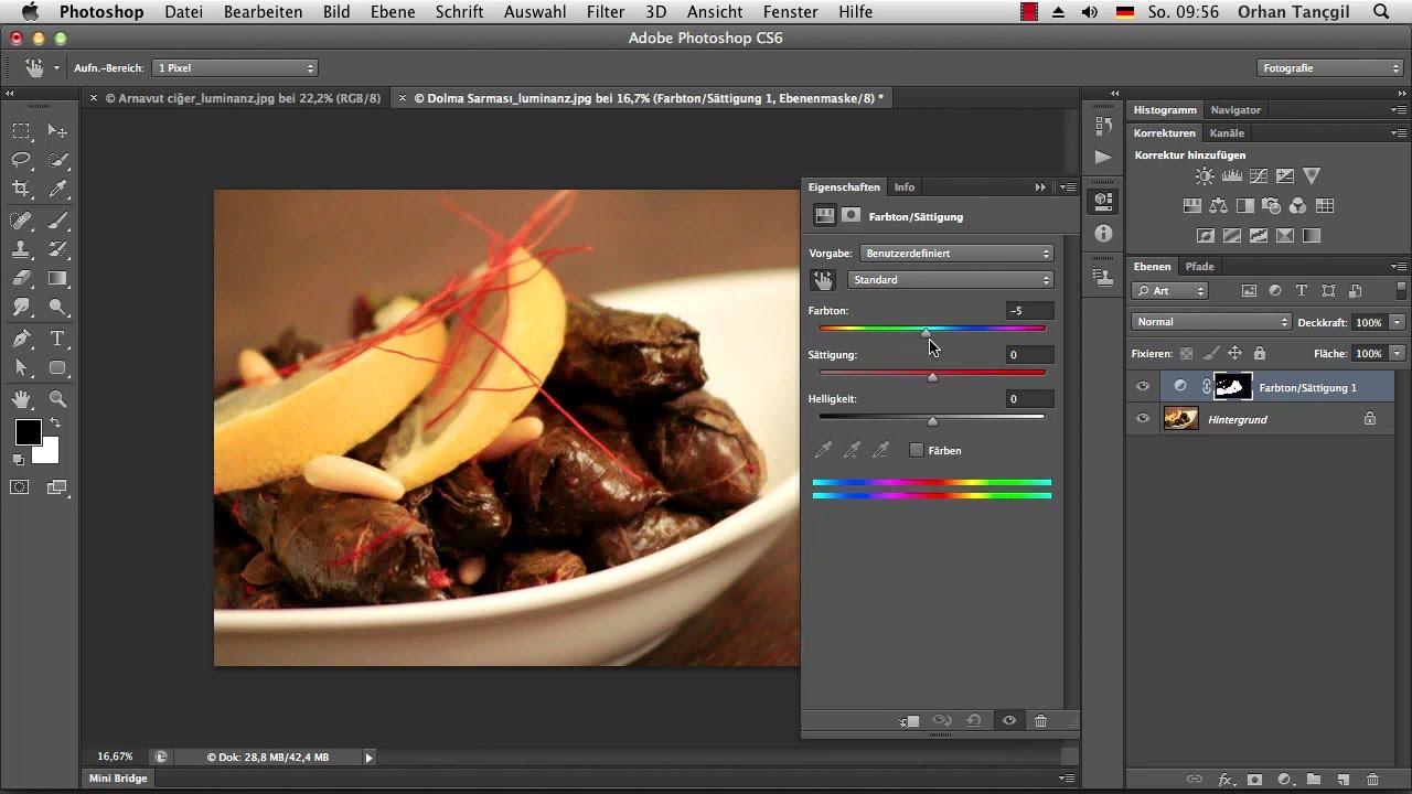 Die Photoshop-Profis Kanalberechnung für Freisteller - Die