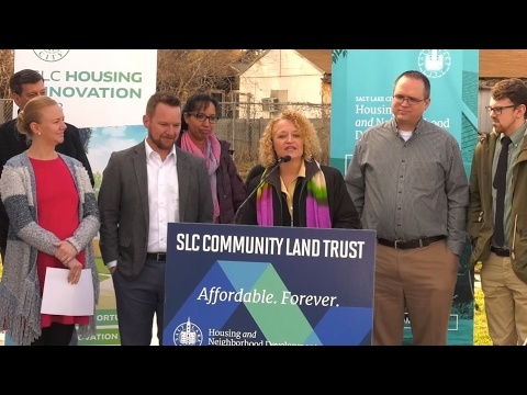 Salt Lake City Launches Community Land Trust