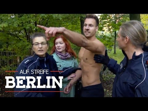 Perfekte Gene: Frau zapft Spermaprobe ab   Auf Streife - Berlin   SAT.1 TV