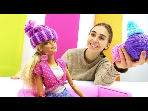 Как сшить шапку для куклы своими руками