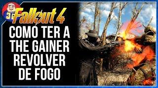 Guia Fallout 4 Como Ter a The Gainer✦ (Fallout 4 Melhor Revolver)
