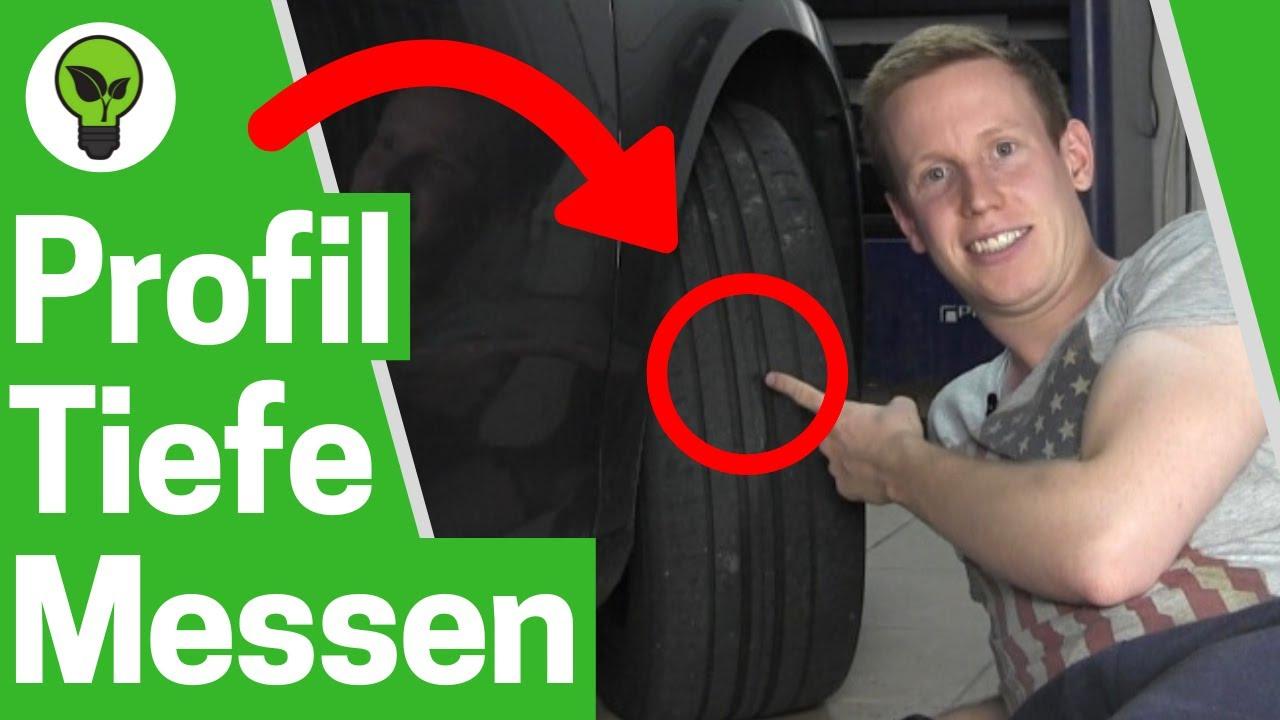 Profiltiefe Messen Auto Ultimative Anleitung Autoreifen