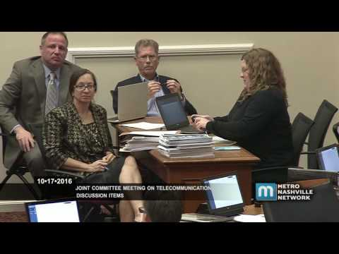 10/17/16 Joint Committee Meeting, Telecommunication Items