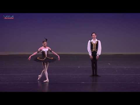 Reina Stamm (12) & Ryan Williams (13) Master Ballet Academy YAGP2017NYC Finals Satanella PasDeDeux