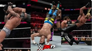 WWE 2K17 DLC - ALL New Moves (New Moves Pack)
