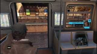 Amzing Train Hacking In Watch Dogs