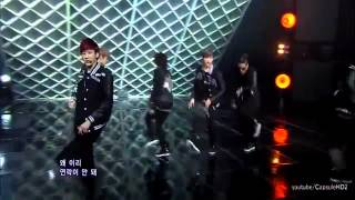 Teen top - Intro + Crazy (Comeback Stage)