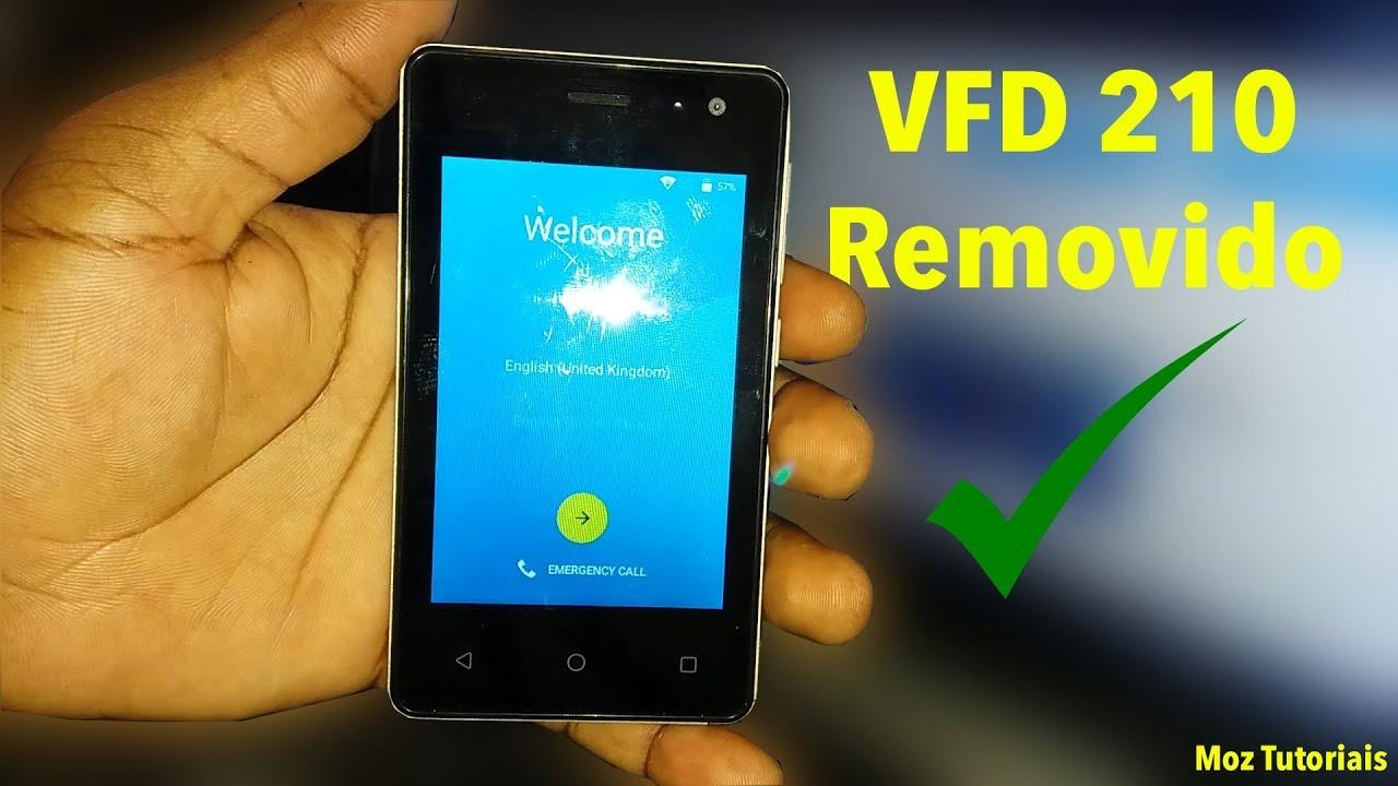 Como Remover Conta Google No Vodacom Smart Kicka 3 VFD 210
