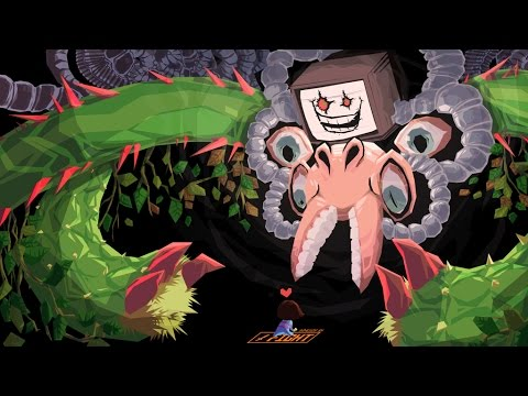 Undertale Color Mod Neutral Playthrough Finale Omega Flowey