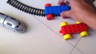Choo Choo Train For Toddlers Pushing Blocks Train - Part 2 by JeannetChannel