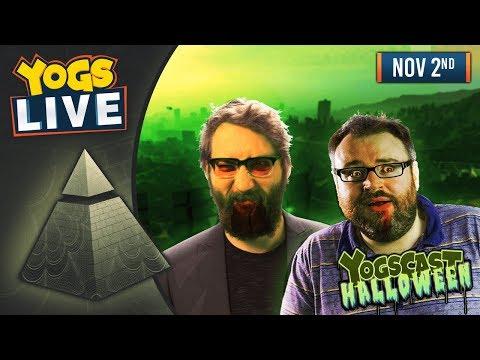 YOGSCAST HALLOWEEN WEEK! - GTA V! w/ The Chilluminati! - 2nd November 2018