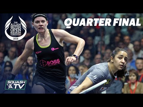 Squash: Allam British Open 2018 - Women\'s QF Roundup