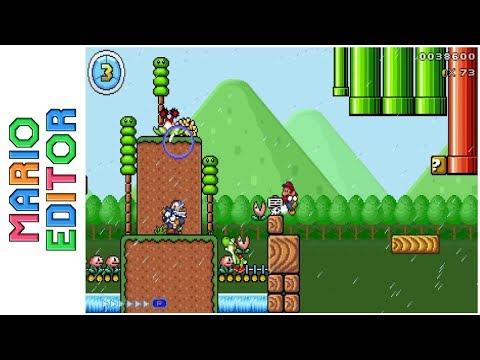 Kirisame Grasslands • Mario Editor