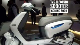 TVS Jupiter Based Electric Scooter Coming Soon