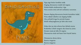 Plato Ginting Dinosaurus