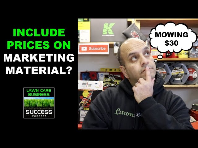 Should you include pricing in your marketing material?