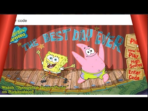 [Spongebob Game] The Best Day Ever !! |