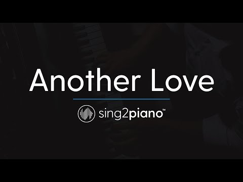 Another Love (Key of C - Piano Karaoke) Tom Odell