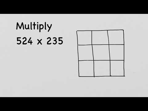 Learn Box Method Multiplication - Interesting And Easy
