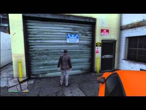 GTA 5: Buying Vinewood Garage $30,000 Store Supercars