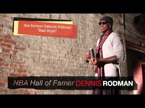 Dennis Rodman At The Art Factory