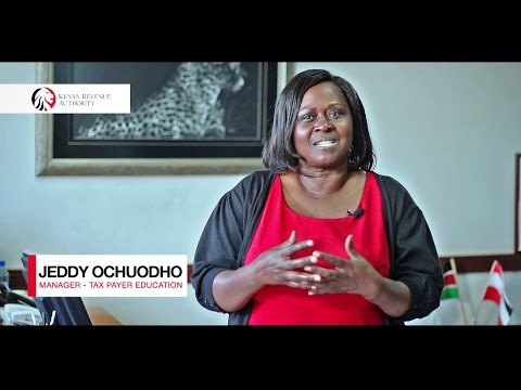 Taxation In Kenya - Jeddy Ochuodho (Manager - Tax Payer Education) #StoriZaUshuru