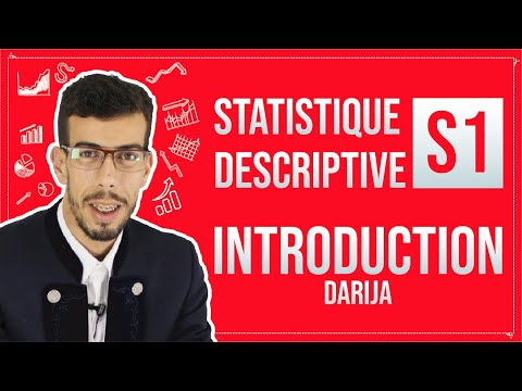 CAFE ECO #EP 01 Statistique Descriptive S1 ''Introduction'' Darija