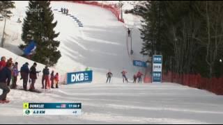 Veverka na světovém poháru v biatlonu Oslo / Squirrel in biathlon Oslo THUG LIFE