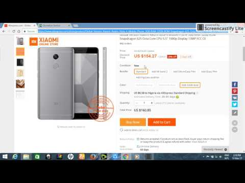 How to buy from aliexpress and ship to Nigeria through chrisvicmall
