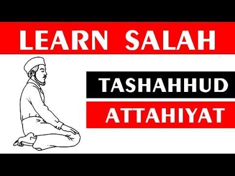 How To Recite Attahiyat ( Tashahhud) in salah with English Translation
