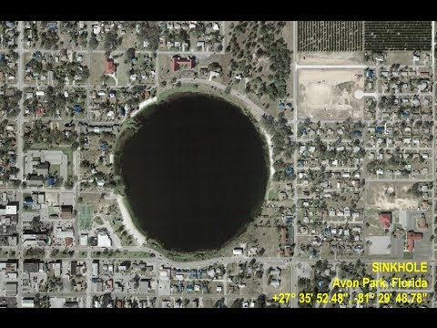 Frightening Sinkholes Are Appearing All Over The Planet