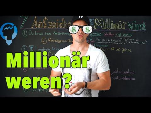 7 Anzeichen, dass du Millionär wirst