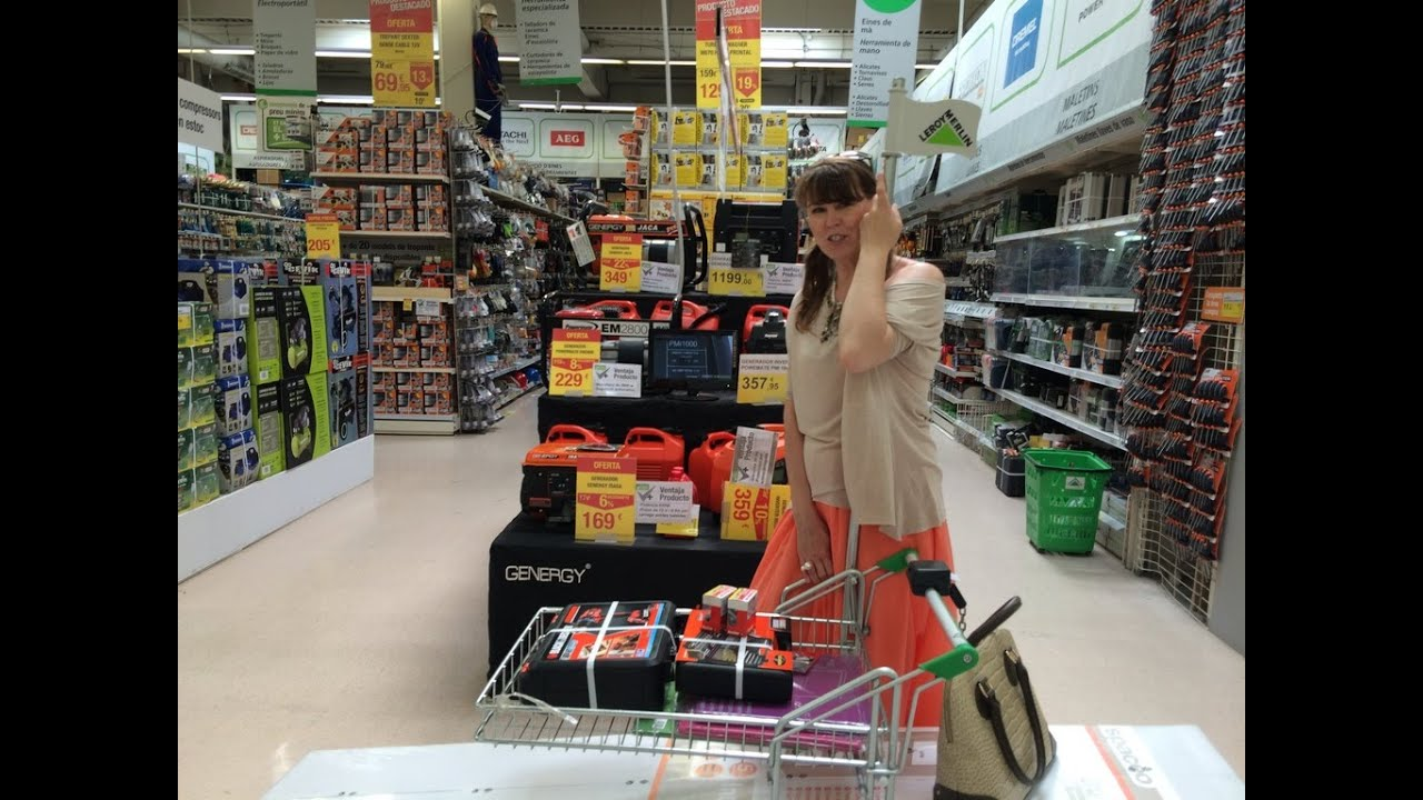 Spain Go To The Store Leroy Merlin Shopping For Home