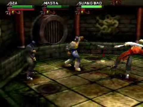 Wu-Tang: Shaolin Style/Taste the pain (psx) review - YouTube