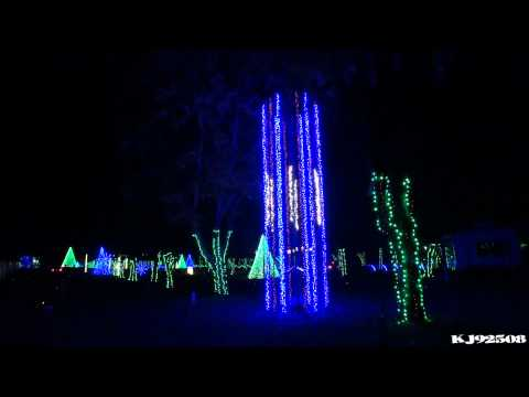 Christmas Light Show 2013 (Montage) - Dancing Lights at Jellystone Park