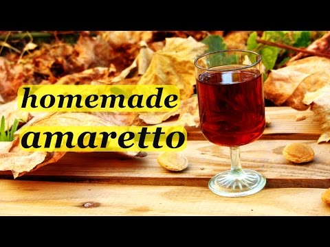 How to make Amaretto liqueur, recipes of homemade liqueur