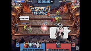New High - 6,300 Trophies! Castle Crush #84 gameplay walkthrough