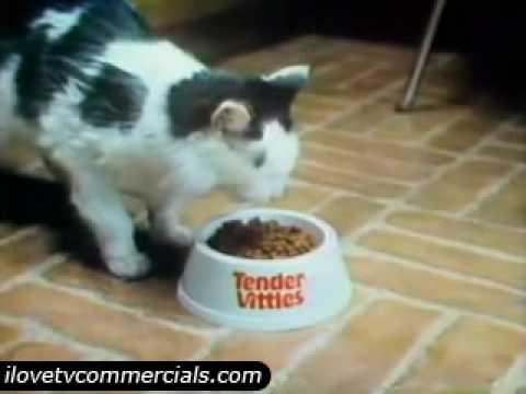 Tender Vittles Cat Food: 1979