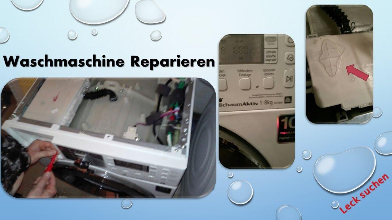Häufig Waschmaschine selber reparieren Teil 1 - YouTube JS92