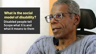 What is the social model of disability? - Scope video
