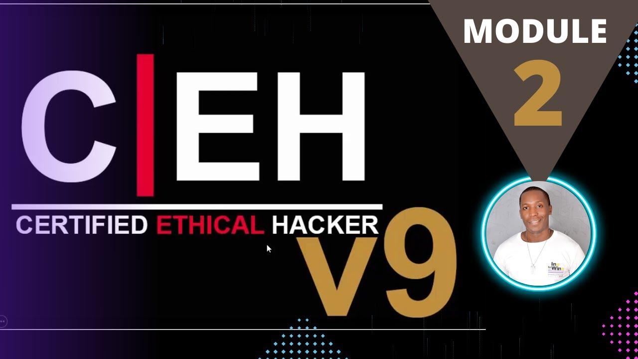Biko Georges   Ancienne Formation   CEH V.9   - Module 2 - Installation du Laboratoire de Hacking