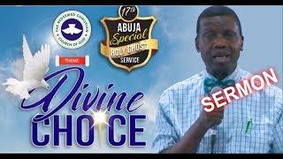 Pastor EA Adeboye Sermon  RCCG Abuja 2018 HOLY GHOST SERVICE
